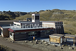 Dinosaur Provincial Park Visitor Centre - Field Station of the Royal Tyrrell Museum, Alberta