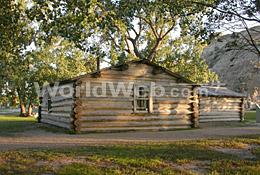 John Ware's Cabin, Dinosaur Provincial Park, Alberta