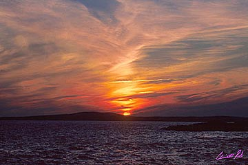 Worldweb Com Photo Sunset In Peggy S Cove
