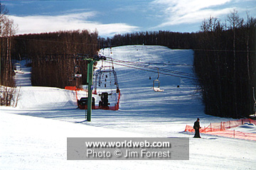 Worldweb Com Photo Cold Lake Ski Hill