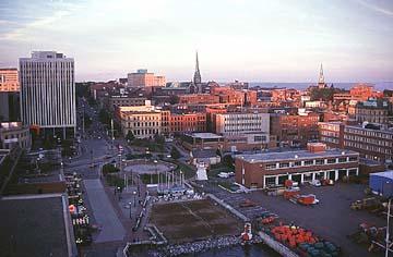 The New Brunswick city was onenew brunswick city