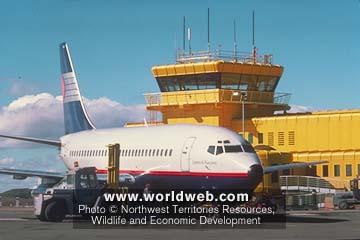 Worldweb Com Photo Iqaluit Airport Nunavut